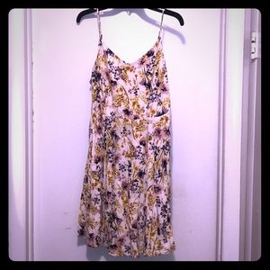 Old Navy cream floral sundress